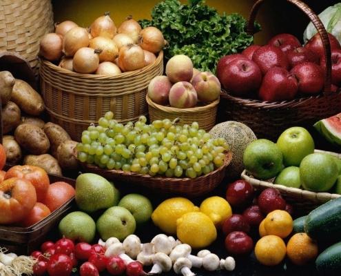 Depozitarea legumelor şi fructelor - condiţii